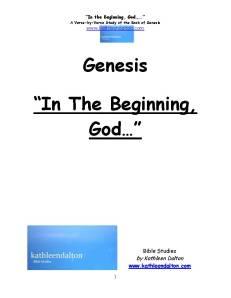 Genesis cover