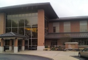 Greenwood Public Library on Old Meridian