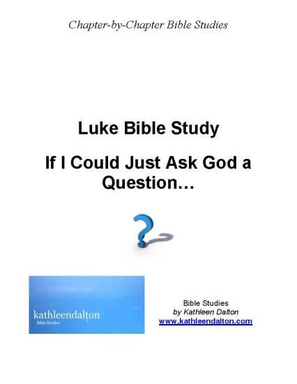 Luke first page