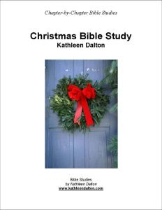 Christmas Bible study black line