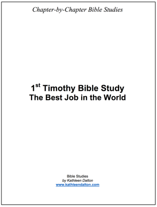 1st Timothy 2018 cover
