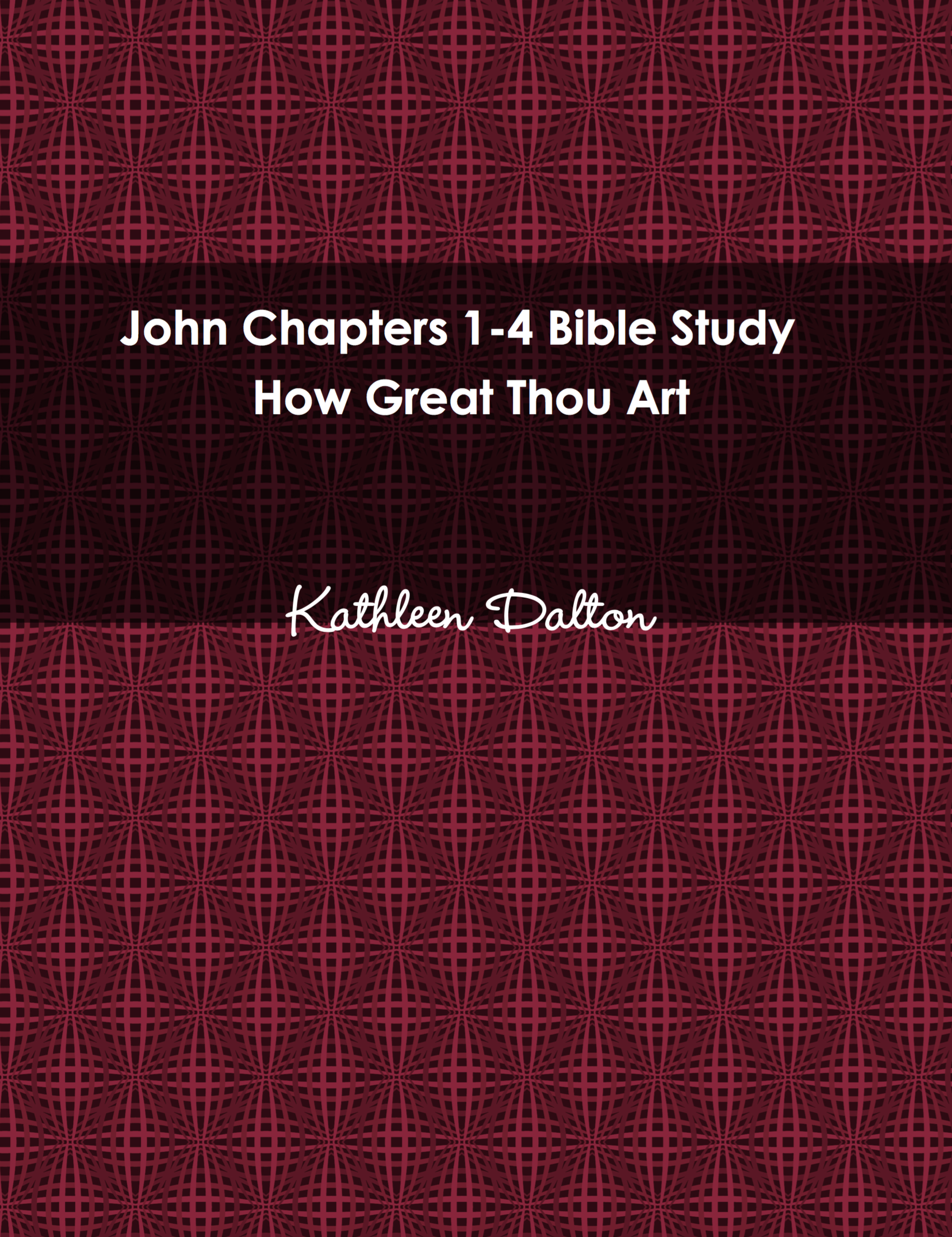John 1-4 front cover