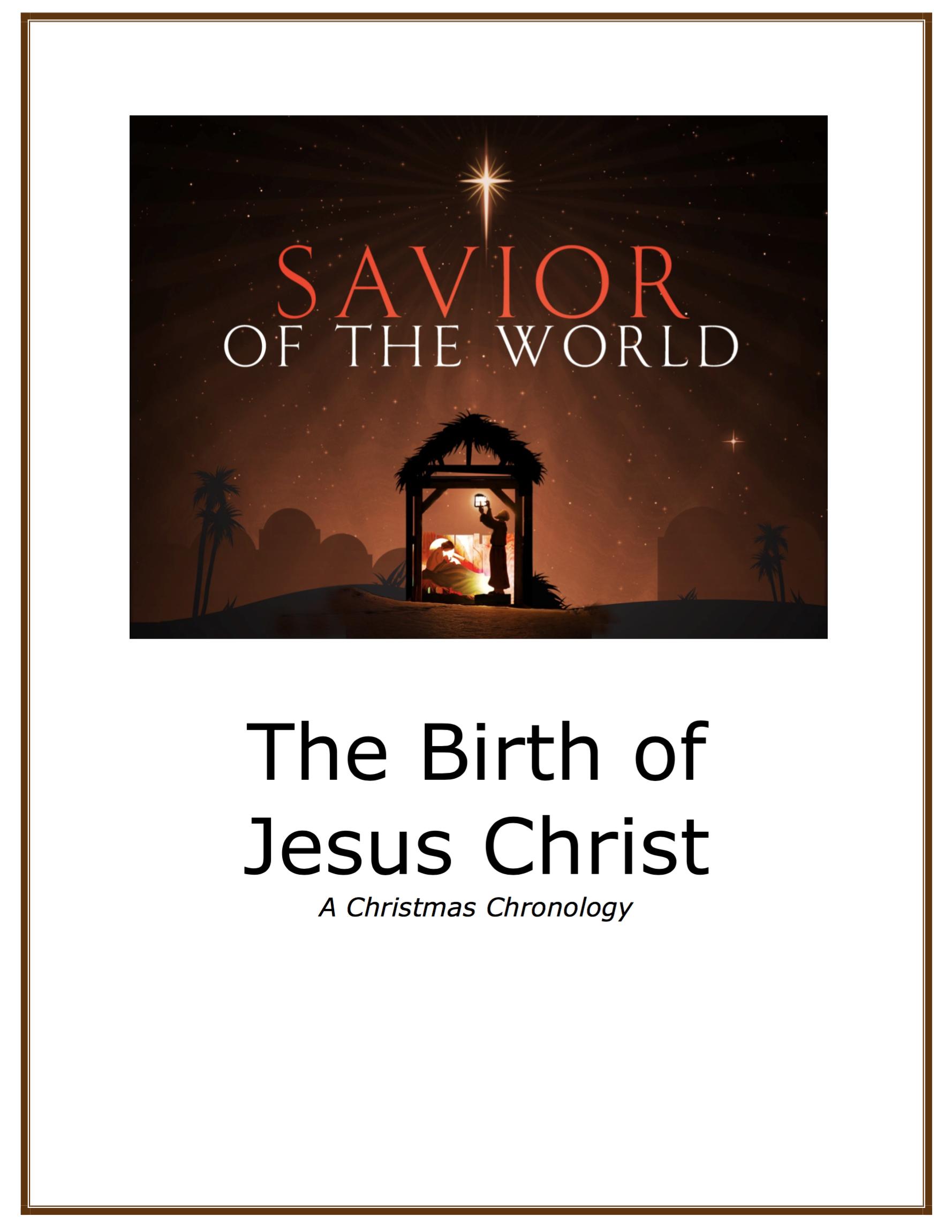 Christmas chronology icon2