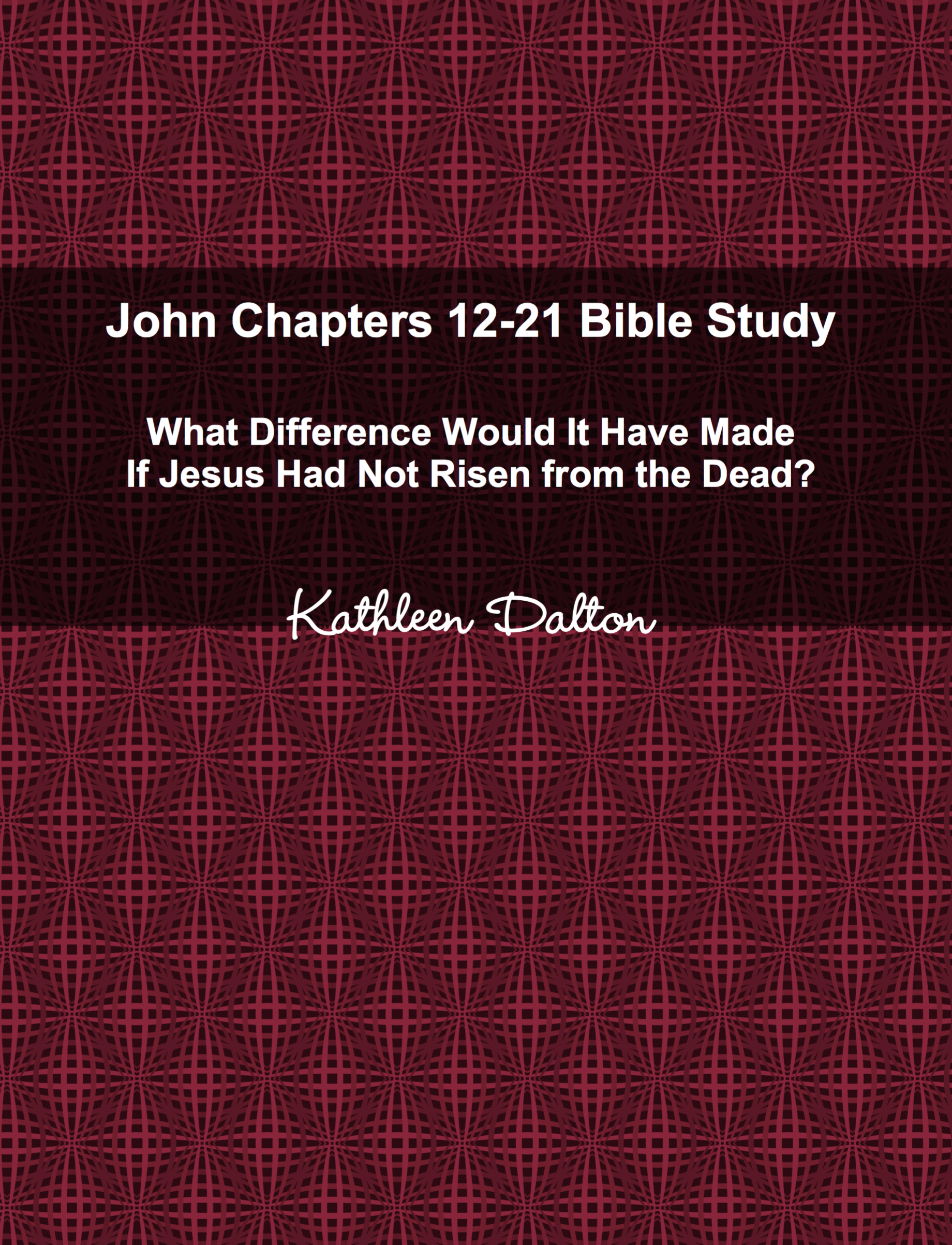 John 12-21 front cover